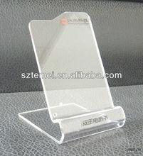 new design acrylic phone display heads