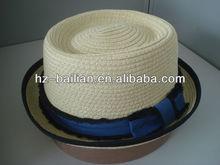Custom made school straw hats, baby girl straw hats