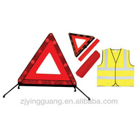 Warning Triangle With Safety Kits