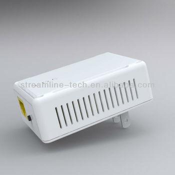 300m plc homeplug powerline adapter