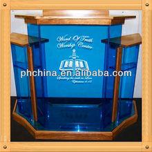 An-b283 moderno vender fábrica de madeira púlpito, De madeira púlpito, Púlpito da igreja Pedestal