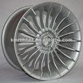 bmw alpina réplica de roda de alumínio com acabamento em prata