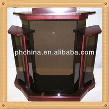 An-b285 moderno vender fábrica de madeira púlpito, De madeira púlpito, Púlpito da igreja Pedestal