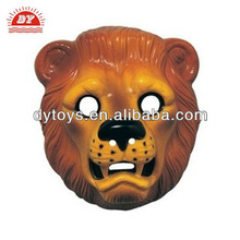 Plastic Lion Animal Mask Costume Accessory ICTI Toy Factory