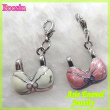 New summer collection enamel bra charm #17181