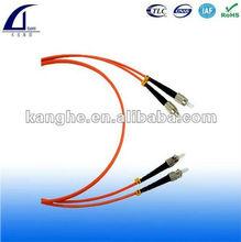 ST connector/MM,Duplex fiber optic patch cable