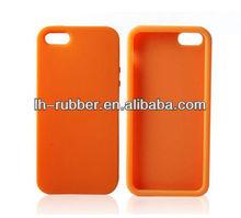 Apple iPhone 5 Silicone Cover - Orange