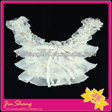 Fashion lace chiffon collar garment accessories for dress, latest women collar designs