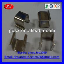Custom stainless steel/1095 steel small U clip spring ISO9001 passed