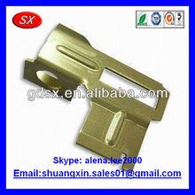 Custom brass angle brackets,I/U bracket brass ISO9001 passed