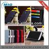 Lichee pattern wallet case ,for samsung galaxy s4 wallet case