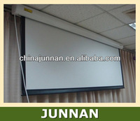Matte White Electric Projection Screen