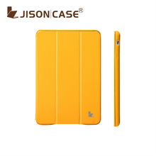 2013 popular yellow slim case for iPad mini