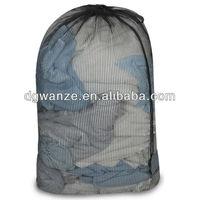 handmade drawstring wash bag laundry bag