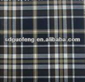 100% cotton yarn dyed checks flannel fabric