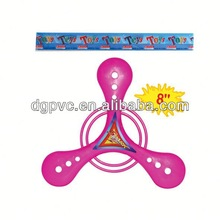 pull line flying disk oc0115326 ,fair attraction, colorful wood beads