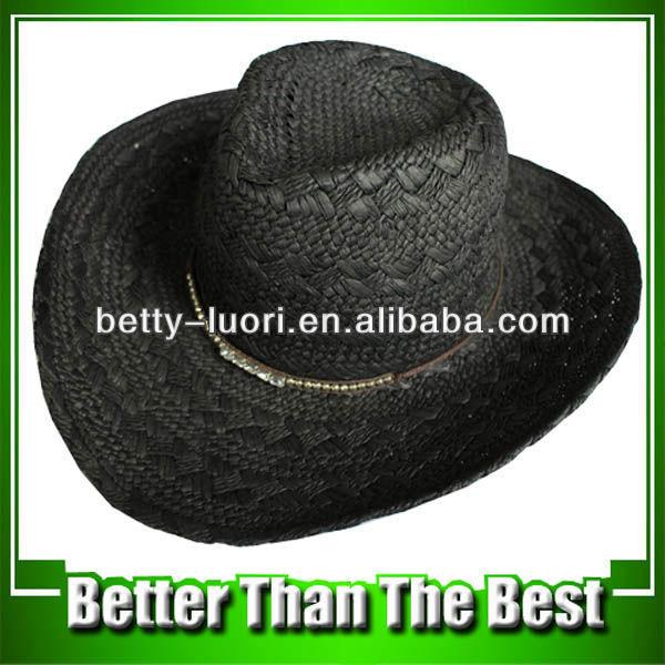 Fashion Men's Paper Straw Cowboy's Hats