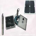 4 polegada agricultura dc bomba de água solar para irrigação