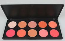 Hot!10 color makeup blush palette #2