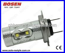 50w cree 10pcs 5w cree H7 fog light/fog lamp/led auto bulb,led car fog lamp