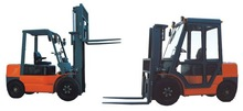Safe over-guard and warning light Comfortable control electric forklift truck