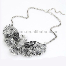 alloy birds necklace