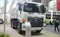 تفريغ شاحنة هينو، 25~30 طن قلابة، 6*4 يحركها النظام.