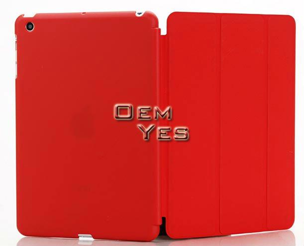3 Folding Stand PU+PC Smart Cover For iPad Mini
