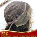 100 brasileño virgen del pelo pelucas llenas del cordón