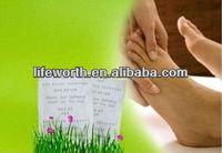 wood vinegar detox foot patch(oem service)