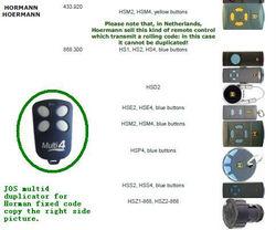 HOERMANN remote ,HOERMANN transmitter,HOERMANN openers ,868.3mhz,HOERMANN 433.93mhz