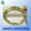 Placa de brida de tubería de acero al carbono DIN S235JR