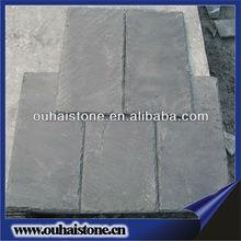 Natural black slate portuguese clay roof tile