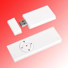 RF 1mw/5mw usb wireless laser pointer with play slide