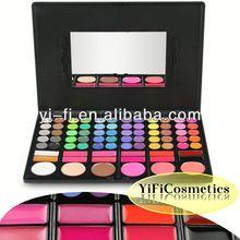 Distributor!78 color eyeshadow blush makeup nature hair eyeshadow brush accessory