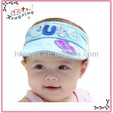 Fashion Design Custom Lovely Baby's Sun Visor Hat