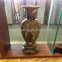 marble stone vase