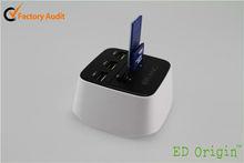 Novelty USB Hub with Card Reader