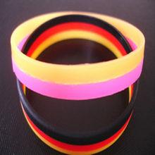 sports titanium silicone magnetic bracelet