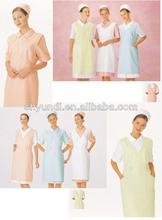 Hospital fashionable nurse uniform designs