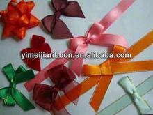 Satin underwear ribbon bows