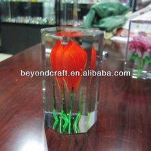 crystal 3d laser blank,glass cube with 3d laser image