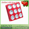 sun-flower high brightness full spectrum New Indoor planting Promotion led grow light Manufacturers Bulb RED BLUE IR UV