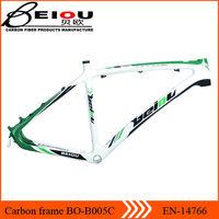 Toray T700 monocoque mtb frame carbon