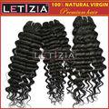 Top vendita!!! Nuovo 2013 100% stileindiano vergine profondo arricciarei capelli umani