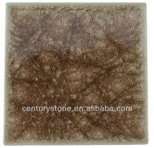 4x4 Wall Tile New Model Flooring Tiles Rust Brown Porcelain and Glass Tile