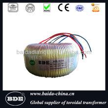 electrical transformer toroidal shape,copper winding
