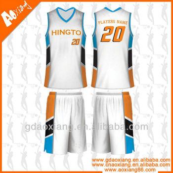 Basketball league match uniform /wear design and custom
