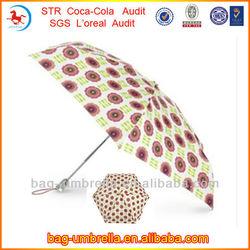 high fashion promotional items 3 fold auto open and close umbrella