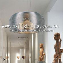 Aluminum silver pendant light 11202-3